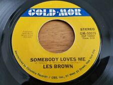 "LES BROWN - Somebody Loves Me / Love Walked In 7"" JAZZ BIG BAND SWING Gold-Mor"