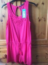 Ladies Pink M & S Playsuit Size 8  BNWT