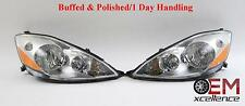 06-10 Toyota Sienna Left & Right Headlight OEM Free Shipping *Polished*