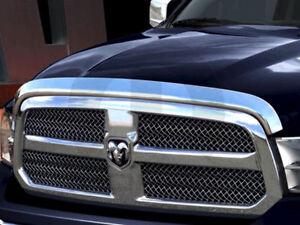 2009 - 2018 Dodge Ram 1500 Truck Mopar Chrome Bug Shield  Air Deflector  OEM