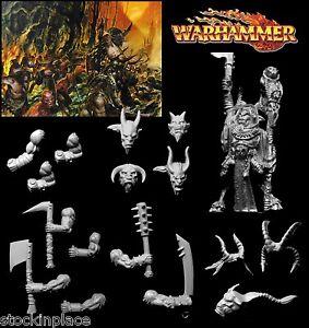 GAMES WORKSHOP Warhammer Chaos BEASTMEN Figures & Bitz FREE UK POSTAGE