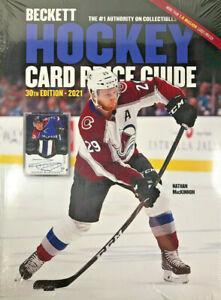 New 2021 Beckett Hockey Card Annual Price Guide 30th Edition w/ Nathan MacKinnon