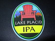 LAKE PLACID PUB & BREWERY IPA Chair STICKER craft beer brewing decal