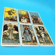 78pc/kit Smith-Waite Rider Tarot Deck Vintage Original Card Clasical Magic Board