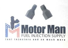 Motor Man - OEM GM TBI 220 Fuel Line Fittings with new plastic washers