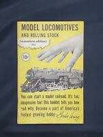 1953 Varney HO Model Locomotives and Rolling Stock Train & Parts Catalog Prices