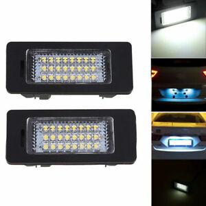 LED License Plate Light Number Plate Lamp For BMW E60 E70 E71 E82 E90 E92 M3 M5