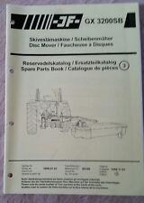 Catálogo De Piezas Cortadora de disco GX3200SB jf