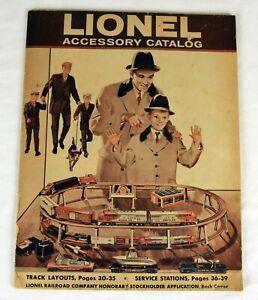 Original Lionel 1960 Accessory Catalog