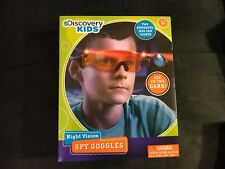 Discovery Kids Night Vision Spy Goggles Red LED Lights Ages 8+ New