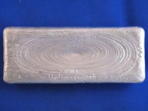 Australia 50.17 Troy Ounce .999+ Silver Ingot B4003