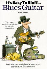 It's Easy To Bluff Blues Guitar Learn to Play Rock Beginner TAB Music Book