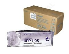 Sony UPP-110S Black and White Standard Thermal Print Paper