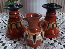 Keramikartikel,kleine Henkelvase,Kerzenständer,Geschenkartikel,Dekoartikel