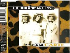 A LA CARTE - the hit mix 1998 MAXI-CD Eurodance RARE!!