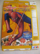Kelloggs Spider-Man Cereal Empty Cereal Box - 2005