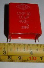 10 WIMA mkp10 1uf 400v in Polipropilene Condensatore AUDIOFILI a Bassa ESR fettuccia