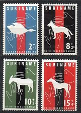 Suriname - 1962 Animal protection Mi. 427-30 MNH