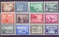 Deutsches Reich 1939 - Post - MiNr. 702/713 postfrisch** - Michel 85,00 € (627)