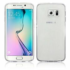 Samsung Galaxy S6 Borde Funda Transparente ] Funda Gel de Silicona [ Perfect-F