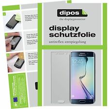 2x Samsung Galaxy S6 Edge Schutzfolie matt Displayschutzfolie S6 EDGE Folie