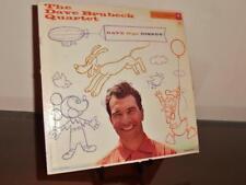"Dave Brubeck Quartet ""Dave Digs Disney"" Columbia 6 eye Cl 1059 V= Vg+ S= Vg+"