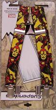"Suspenders Children & Junior 1""x36"" FULLY Elastic Ironman NEW Made in USA"