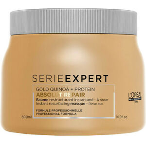 L'Oreal Serie Expert Absolut Repair 500ml Mask with Gold Quinoa + Protein