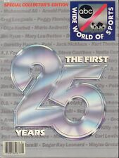 ABC Wide World Of Sports 25 Years Collector's Edition Magazine 1987 090517nonjhe