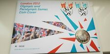 London 2012 Olympic & Paralympic Games £5 Coin Cover No.04232 with 4 Stamps