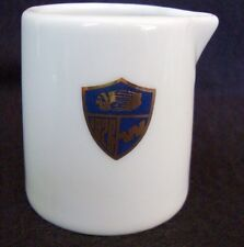 Vintage Western Airlines First Class Creamers, Blue & Gold Shield Logo, 2""