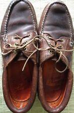 Timberland Leather 3 Eye Classic Apollo Vibrant Men's Size 9.5 Shoe