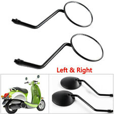 2x Universal Motorcycle Scooter Side Rear View Mirrors Modification Mirror 10mm