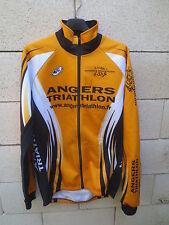 Veste cycliste ANGERS TRIATHLON sport jacket orange 5 XL