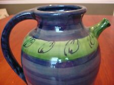 PASTIS & CO (SUD & CO) XL Hand Painted Pitcher $295 made Provence AWESOME Gift!