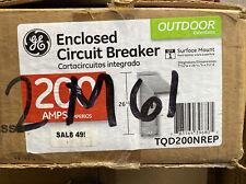 Ge PowerMark Gold 200-Amp 1-Spaces 2-Circuit Main Breaker Load Center Tqd200Nrep