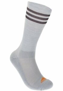 Adidas Men's 2 Pack Tour Performance Crew Socks, Grey