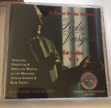 Pedro Vargas - El Tenor De Las Americas En Cuba Volume 1 CD Music