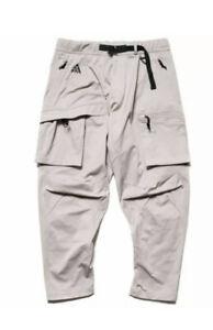 Nike Mens ACG Woven Cargo Pants Moon Particle Sz M NWT BQ7293-286