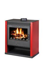 poêle-cheminée,cheminée RUBIS 13kw rouge,NEUF à partir de st-ad ,après blmschv