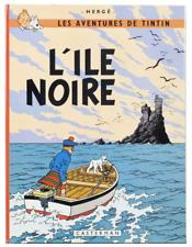 TINTIN - L ILE NOIRE - EO belge (Bob De Moor) - 1966 - B36 - QN (quasi neuf)