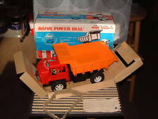 CRAGSTAN BATTERY POWERED DETROIT POWER DIAL DUMP TRUCK, PERFECTLY WORKING W/BOX!