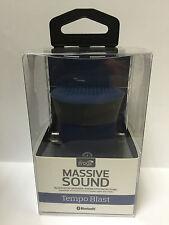 Genuine iFrogz Massive Sound TempoBlast, Wireless Bluetooth Speaker - Blue