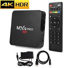 Latest MXQ Pro 4K HDR Android 7.1.2 Nougat TV Box with KODI 18 1G/8G S905W US