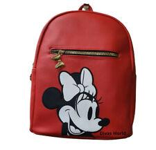 Disney Minnie Mouse Rucksack Schultertasche Rot Beutel Taschen Primark