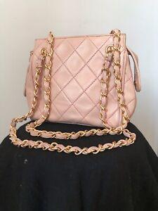Mini Sac Chanel Vintage Rose Matelassé