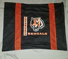 "Vintage NFL Cincinnati Bengals Pillow Case 24""x30"""