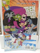 TEEN TITANS GO! # 53 ~ CARTOON NETWORK ~ BEAST BOY MENTO KID FLASH NM / UNREAD