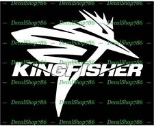 Kingfisher Boats  - Sports - Car/SUV/Truck Vinyl Die-Cut Peel N' Stick Decals