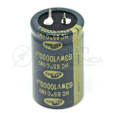 Condensatore elettrolitico 10000 uF 63v 85°c 30x50 mm Snap in SAMWHA 10000uf